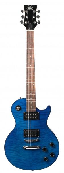 HK Les Paul Transparent Blue (second hand)