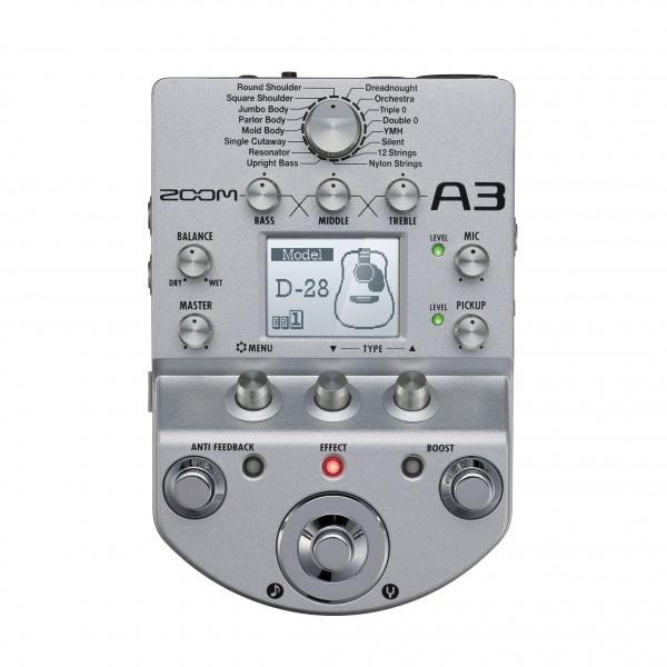 Zoom A3 Acousticmultieffektgerät