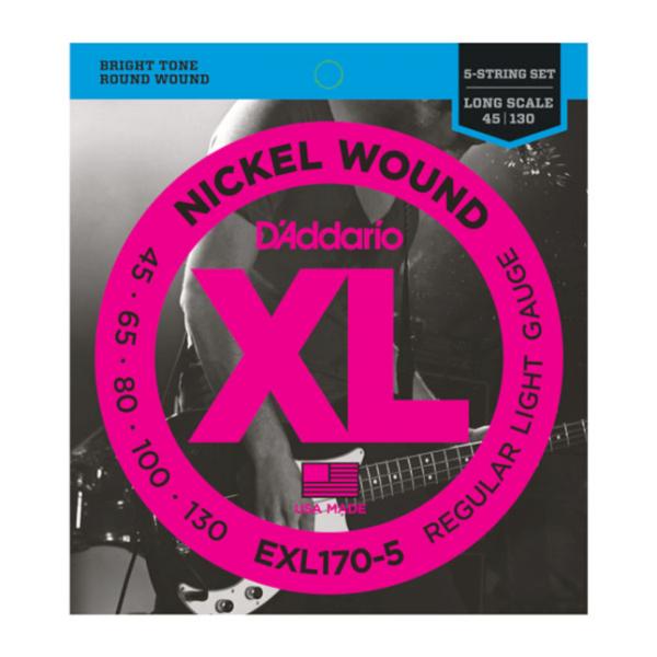 DAddario EXL170-5 Saiten Bass