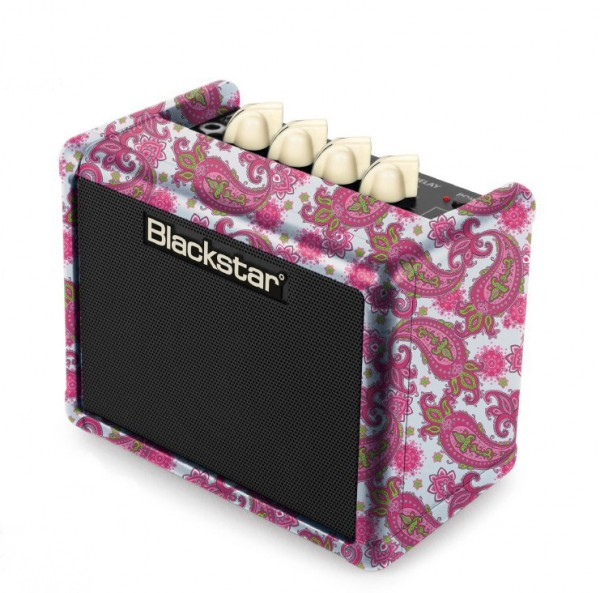 Blackstar FLY 3 Mini Amp Pink Paisley Ltd Edi