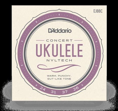 DAddario EJ88C Ukulele Concert