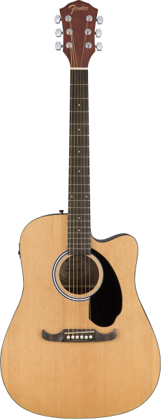 Fender FA-125CE Dreadnought Natural R
