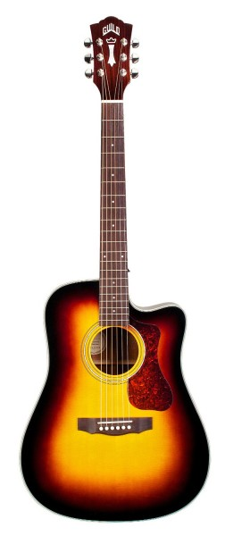 Guild D-140CE Sunburst