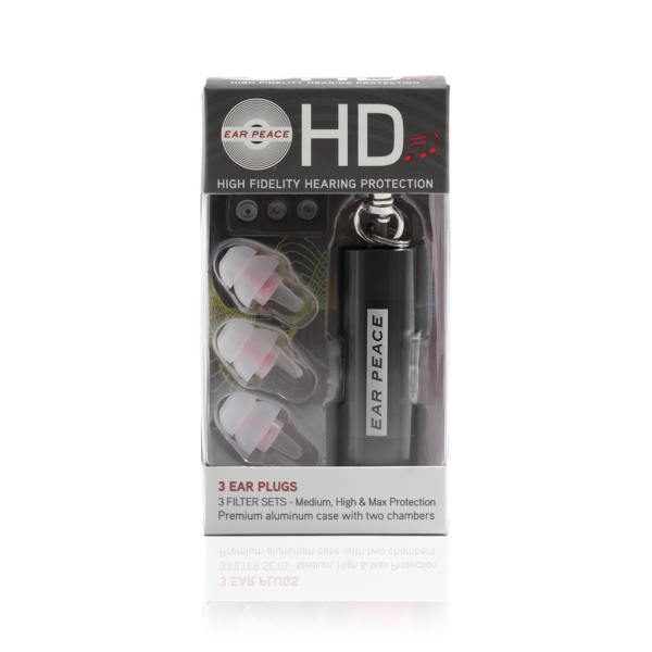 EarPeace HD, Black Case