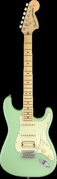 FENDER American Performer Stratocaster HSS Satin Surf Green