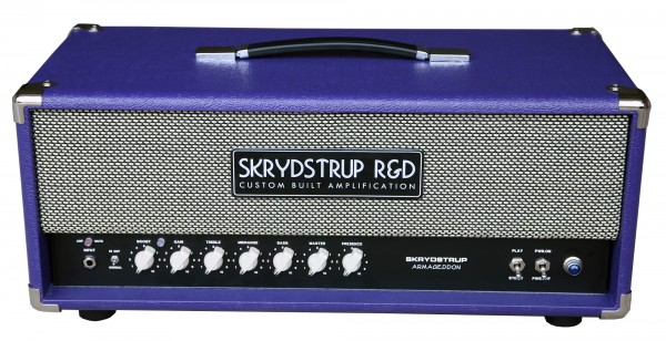 Skrydstrup Armageddon Amp Head Purple MJ