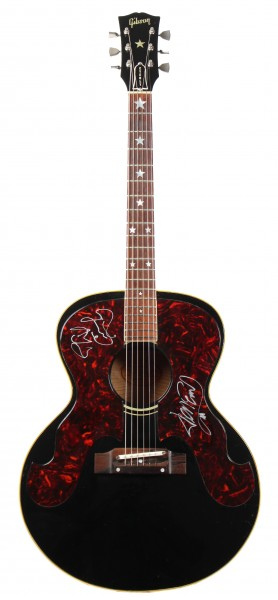 Gibson Everly Brothers 1963 original autographed (MJ Private Stock)