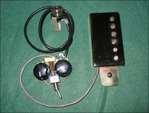 Dommenget Jazzbucker Control Kit