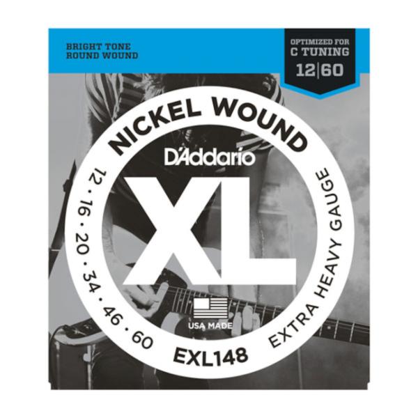 DAddario EXL148 Nickel Wound Extra Heavy Saiten 12-60