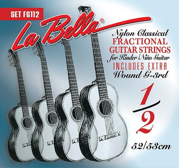 La Bella FG 112 1/2 Gitarre