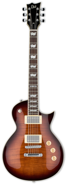 ESP-LTD EC-256FM Dark Brown Sunburst