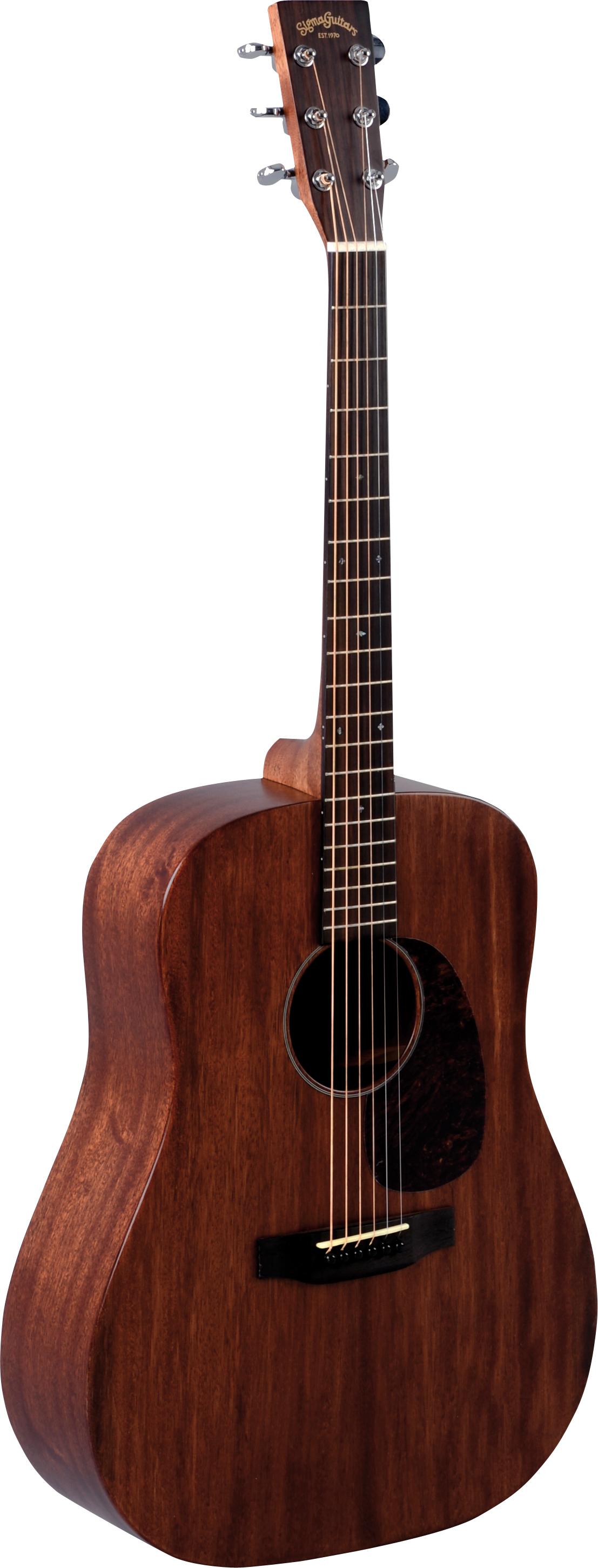 Sigma DM 15 Westerngitarre Western Gitarren Akustik Gitarren
