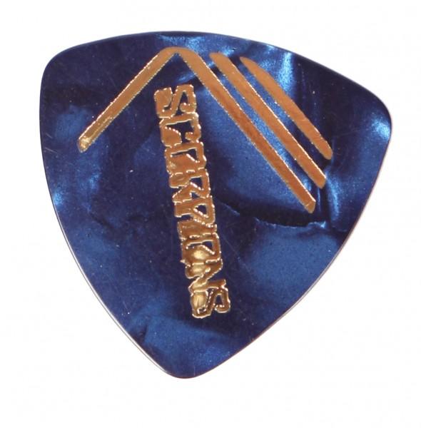 Picks Scorpions Triangle Perloid Blau