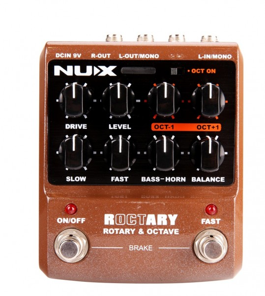 NUX Roctary Leslie Simulation
