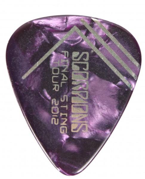 Picks Scorpions Final Sting 2012 Violett/Silver
