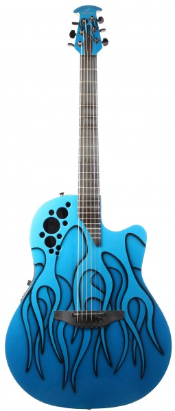 Ovation 1778T Elite Blue Hot Rod Flames (second hand)