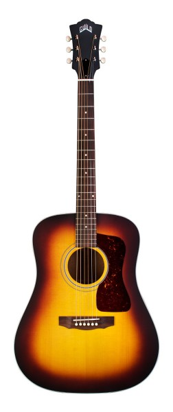Guild D-40E Antique Burst (Handmade in USA)