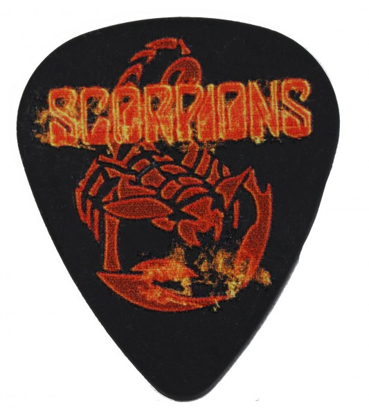 Picks Scorpions Black Flames/Scorpion