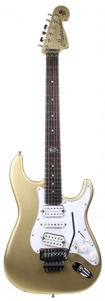 MJ Mastercaster Gold Matching Headstock