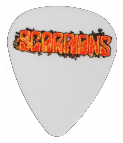 Picks Scorpions White Flames