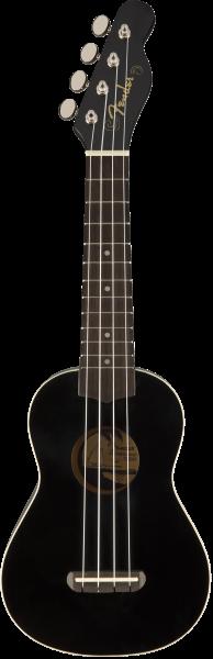 Fender Venice Soprano Uke, BLK NRW