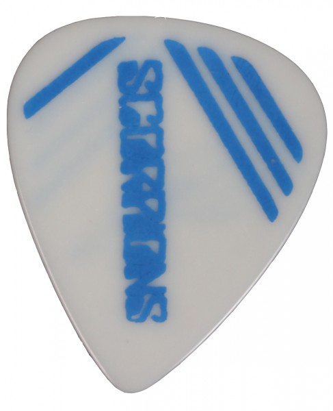 Picks 08 Scorpions White/Blue