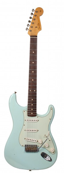 Fender CS 1959 Stratocaster Relic Daphne Blue (MJ Used)