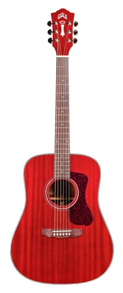 Guild D-120 Cherry Red