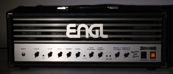 ENGL Matthias Jabs Edition Dummy with autograph