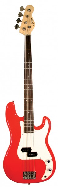 Career Stage-P Bass Red
