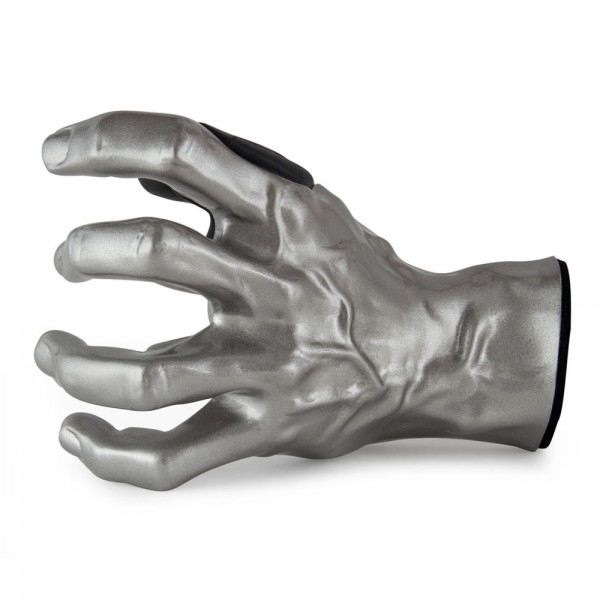 Guitar Grip Silver Metallic Male Left Hand