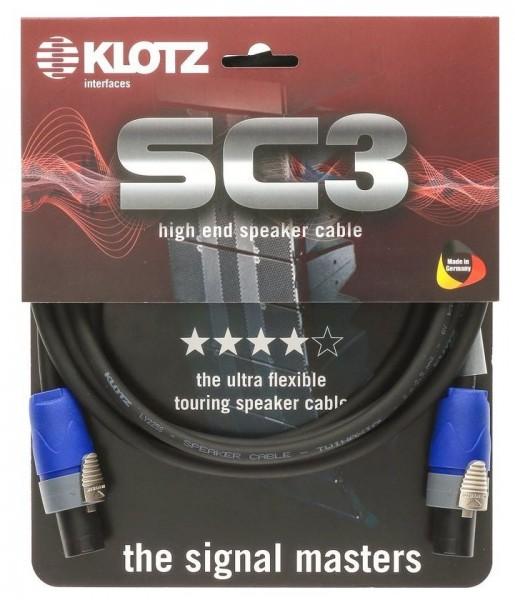 Klotz SC3 02 2m Speakerkabel Speakon 2x2,5mm