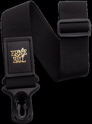 Ernie Ball EB4056 Gurt schwarz Polylock