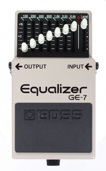 Boss GE-7 Equalizer (second hand)