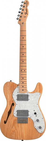 Fender Mexico 72 Tele Thinline MN NT