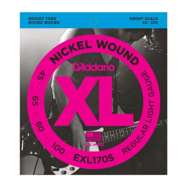 DAddario EXL170 S Short Scale Saiten Bass