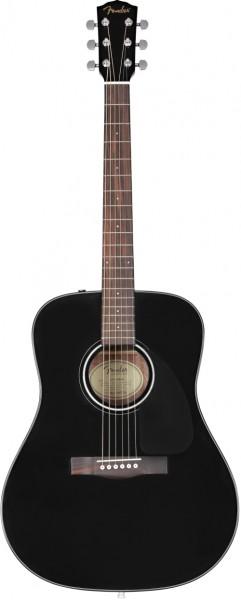 Fender CD-60 Dread V3 DS, Blk WN