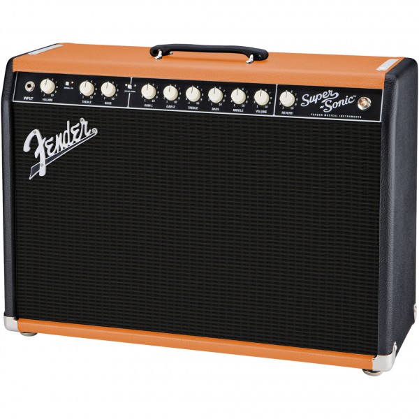 Fender Super-Sonic 22 BLK/ORNG GB2