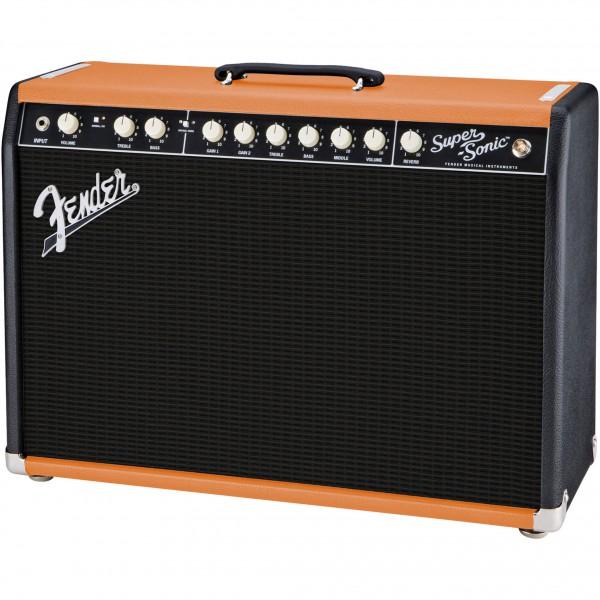 Fender Super-Sonic 22 BLK/ORNG GB2