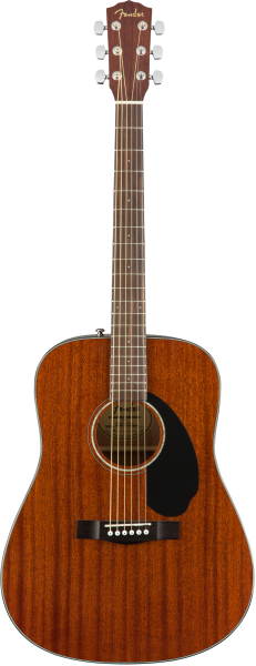 Fender CD-60S ALL MAHAGONI