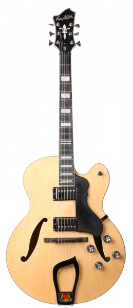Hagström HJ-500 Natural Jazz (Used)
