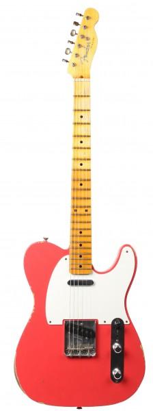 Fender CS Ltd 55 Telecaster Relic Fiesta Red Limited Edition