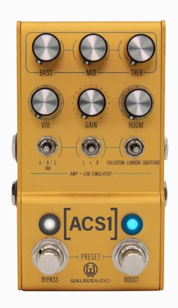 Walrus Audio Amp + Cab Simulator FX Pedal