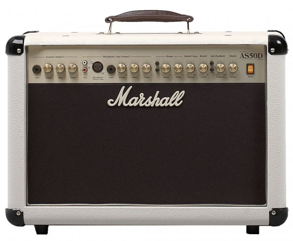 Marshall Acoustic Soloist AS 50 Cream