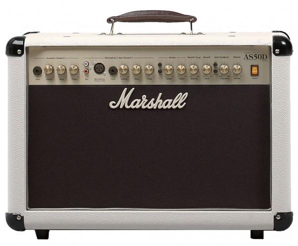 Marshall Acoustic Soloist AS 50 Cream