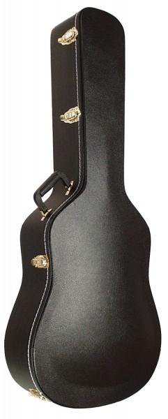 SCC Koffer für Westerngitarre gewölbt
