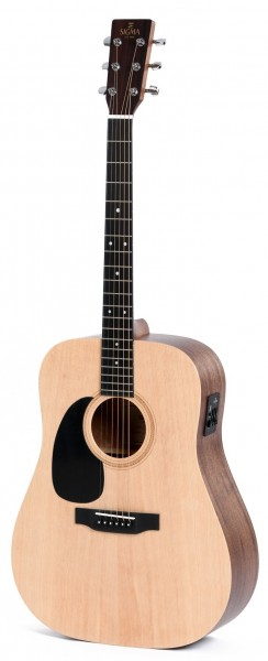 Sigma DMEL Linkshänder Westerngitarre