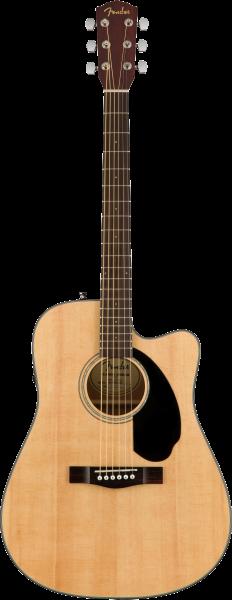Fender CD-60SCE Dread, Nat WN
