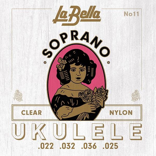 La Bella 11 Soprano Ukulele Saiten