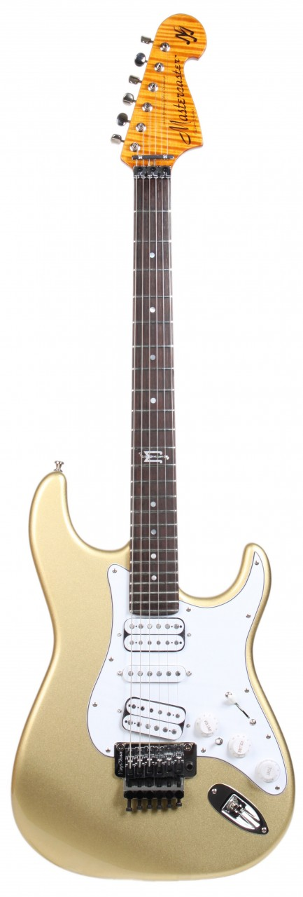 Dommenget MJ Mastercaster Gold - E-Gitarren | MJ Guitars